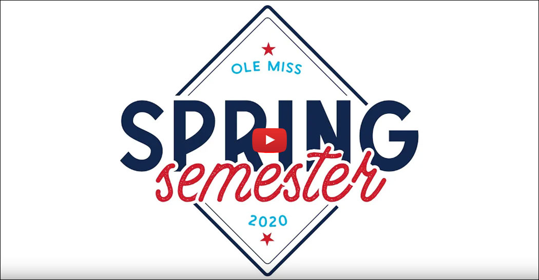 Ole Miss Spring Semester 2020