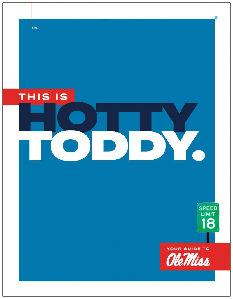 Your Cuide to Olemiss main brochure cover